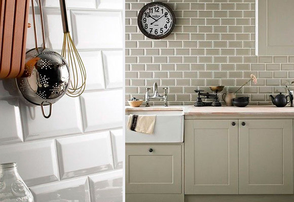 Paneles de vidrio para cocinas y salpicaderos for Azulejos para paredes interiores