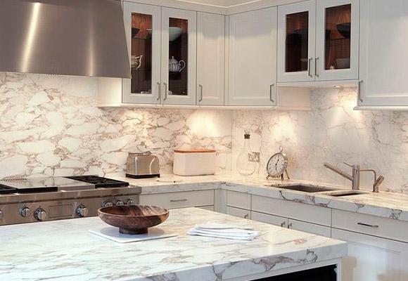 Paneles de vidrio para cocinas y salpicaderos - Marmol para cocinas ...