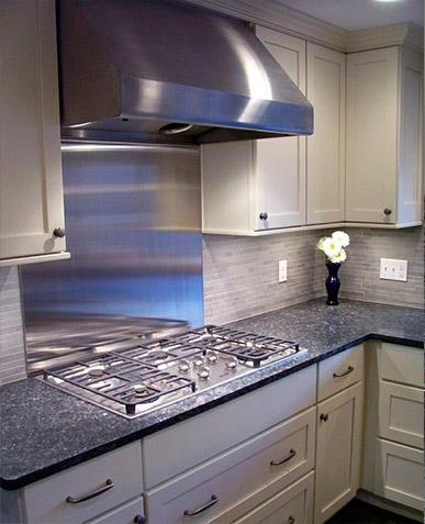 Paneles de vidrio para cocinas y salpicaderos - Cocinas con bloques de vidrio ...