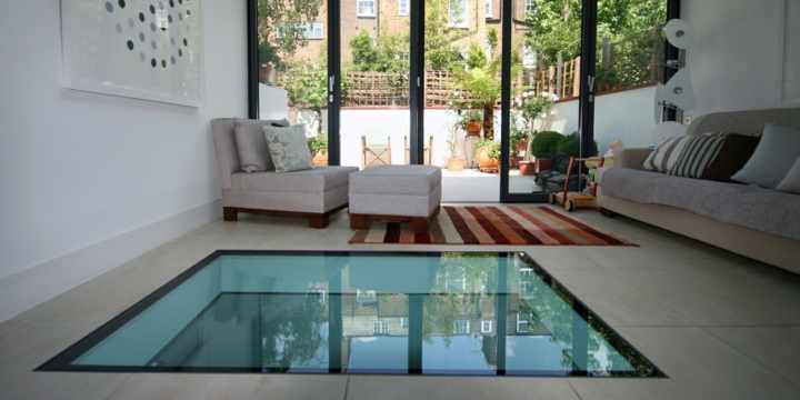 tips combinar color paredes suelo hogar vidrio panel