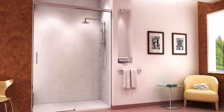 C mo mantener siempre limpia la mampara de vidrio vidrio panel - Como limpiar la mampara de la ducha ...