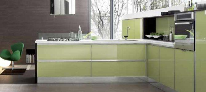 Vidrio: La solución definitiva para la encimera y el frontal de la cocina