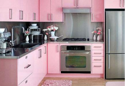 Cocinas alegres, cocina a todo color
