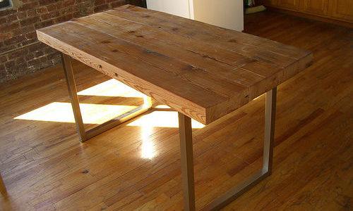 Cómo proteger las mesas de madera