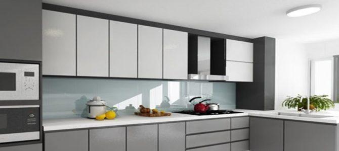 Las mejores ideas para añadir color a la cocina - Vidrio Panel
