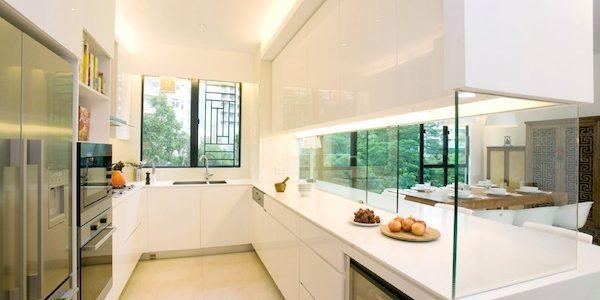 Cómo diseñar una cocina fácil de limpiar
