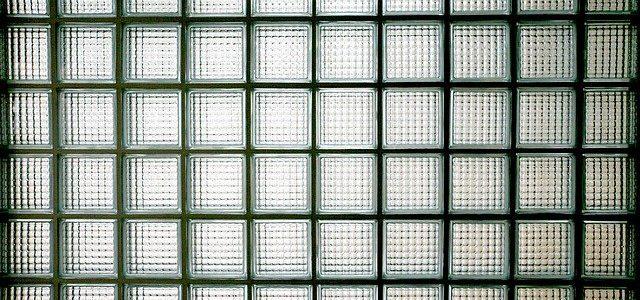 ¿Cómo colocar bloques de vidrio?
