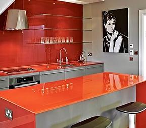 Vidriopanel paneles de vidrio para cocinas ba os y mesa - Panel pared cocina ...